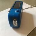 Portable Emergency Solar Crank AM/FM/SW Radio with LED Flashlight 4
