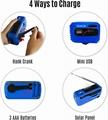 Portable Emergency Solar Crank AM/FM/SW Radio with LED Flashlight 5