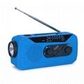 Solar Hand Crank Am FM Multifunction
