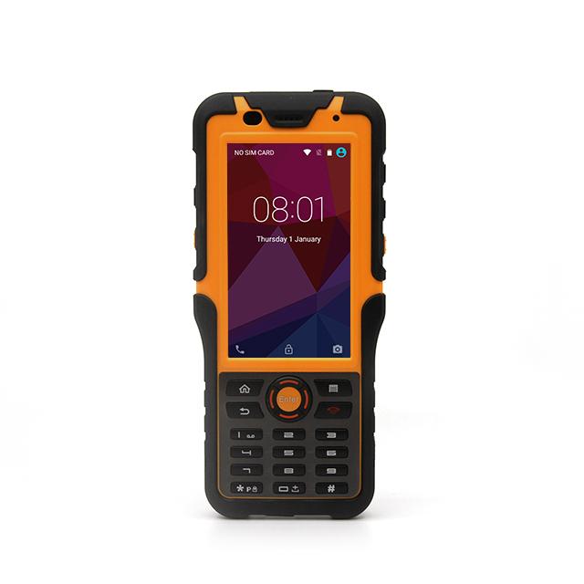 4.5inch PDA Optional NFC LF HF UHF RFID Barcode 2d scanner  industrial IP67 1