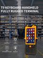 4.5inch PDA Optional NFC LF HF UHF RFID Barcode 2d scanner  industrial IP67 2