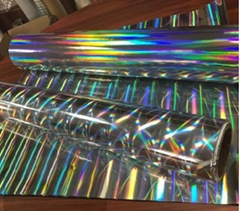 Si  er Holographic Pet Hot Stamping Foil for Paper and Plastic