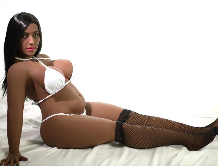 138cm Black Short Sex Doll Small height big breasts sex doll 138cm fat doll 10