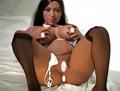 138cm Black Short Sex Doll Small height big breasts sex doll 138cm fat doll 11