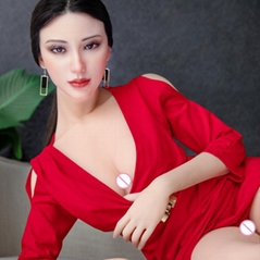 Sex Doll 170CM silicone head with Skeleton Adult Japanese Love Doll Vagina