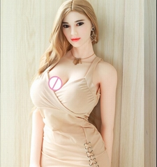 168cm Realistic hollow breast high quality Sex Doll with Metal Skeleton for Men