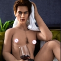 173CM male sex dolls for woman silicone head love dolls for gay woman nice face  5