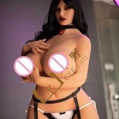 161CM fat woman sex dolls for man Realistic Big Breast Real Sex Doll Metal toys