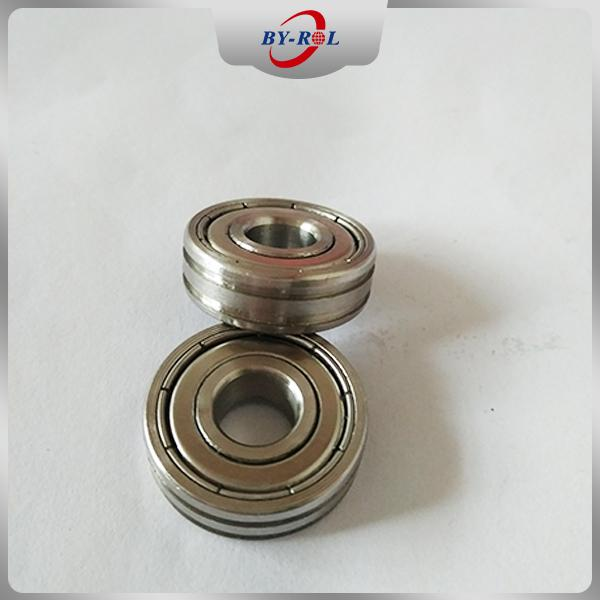 Sliding Door Window Roller Bearing 608zz 608rs with Two Grooves 1