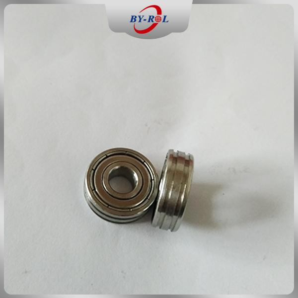 Sliding Door Window Roller Bearing 608zz 608rs with Two Grooves 4