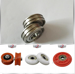 Brasil Market Miniature Plastic Roller Ball Bearings