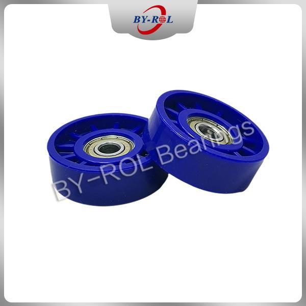 U Groove V groove roller for guide tracks Plastic bearing roller POM Nylon 5