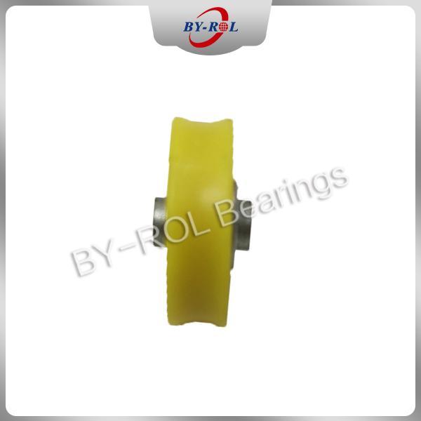 U Groove V groove roller for guide tracks Plastic bearing roller POM Nylon 3