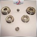 SMALL Micro Miniature flange bearing deep groove ball flange bearing