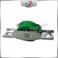 Customized Size Bracket & Bearing Plastic Nylon roller for sliding door, wheel