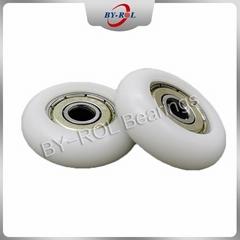 Plastic bearing wheel sliding door roller bearings 608 inside