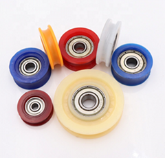 625 626 608 696 6201 bearing white nylon pulley sliding door roller bearing