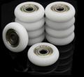 608 608zz nylon plastic roller wheel