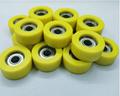 PU soft rubber coated 6201zz bearing