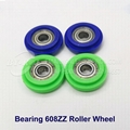 Plastic Injected Roller Wheel with