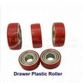 Drawer Plastic Roller Wheel with Thin