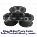 U Type Rubber/Plastic Coated Roller