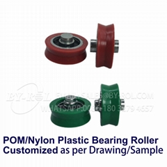 V Groove Non-Standard Door and Window Roller Bearings with Lots of Moulds