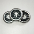 Non-Standard Roller Wheel Bearing with Zinc Plate and Plastic Inner Ring