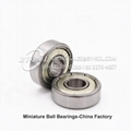 China Factory High Precision 607 Bearing