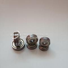 Aluminium Sliding Window Roller Bearing 626zz 606zz 608zz