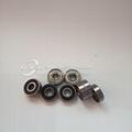 626zz aluminum window roller automatic door wheel ball bearing 2