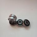 High Carbon Steel Chrome Steel 608 Zz RS Ball Roller Bearings