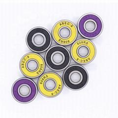 Custom High Speed 8x22x7 Roller Inline Skate Shoe Wheel Micro Ball Bearing 608