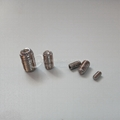 Stainless Steel Hexagon Socket Knurl Set Screws with Cup Point