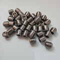 Stainless Screws with Cup Point and Knurling Set Socket Hex Screws
