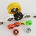 Factory Supply Deep Groove Ball Bearing POM Nylon Coated Sliding Roller Wheel