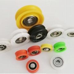 Factory Supply Deep Groove Ball Bearing POM Nylon Coated Sliding Roller Wheel (Hot Product - 1*)