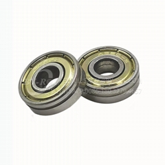 Miniature Deep Groove Ball Bearing 608zz with Single Slot for Toys and Suitcase