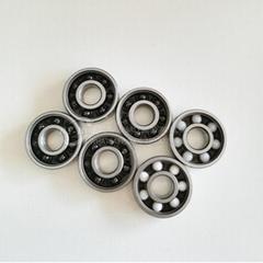 High Speed ZrO2 Si3O4 GCr15 Stainless Steel 608 6200 Hybrid Ceramic Ball Bearing