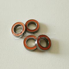 Rubber seals micro hybrid ceramic fishing reel ball bearing miniature bearings (Hot Product - 1*)
