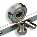 V groove bearing RM3ZZ W3-2RS Dualvee guide wheel track roller bearing W1 W2 W3
