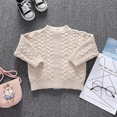 Long-sleeved female baby high-end walker clothes solid color newborn baby button
