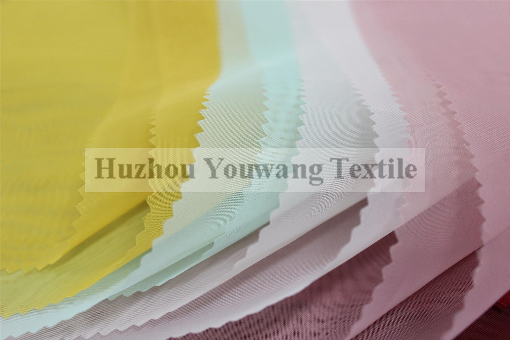 Dyed Polyester Voile Fabric 4