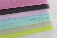 Stiff Handfeel Tull Fabric