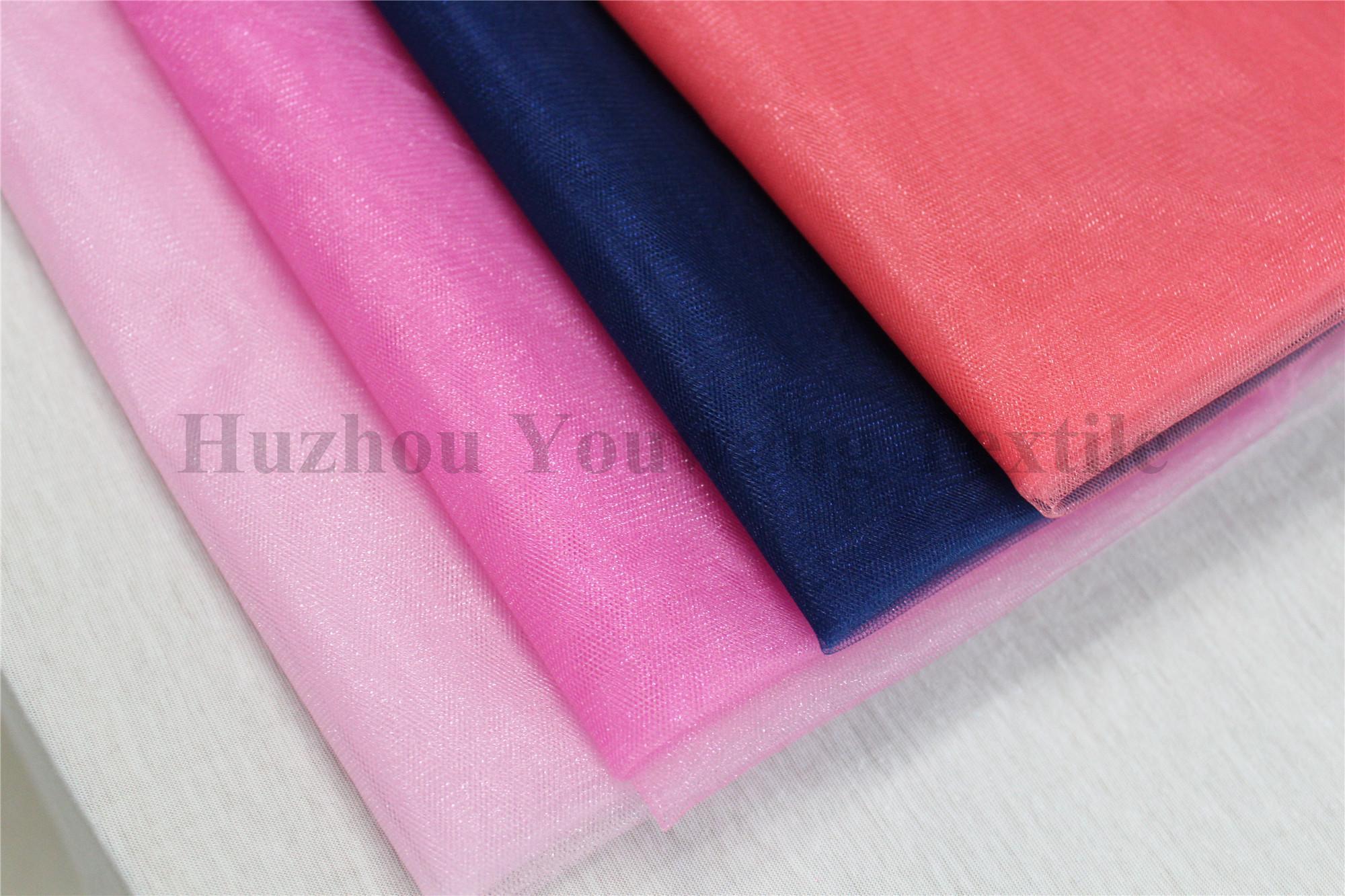 Shiny Tull Fabric 2