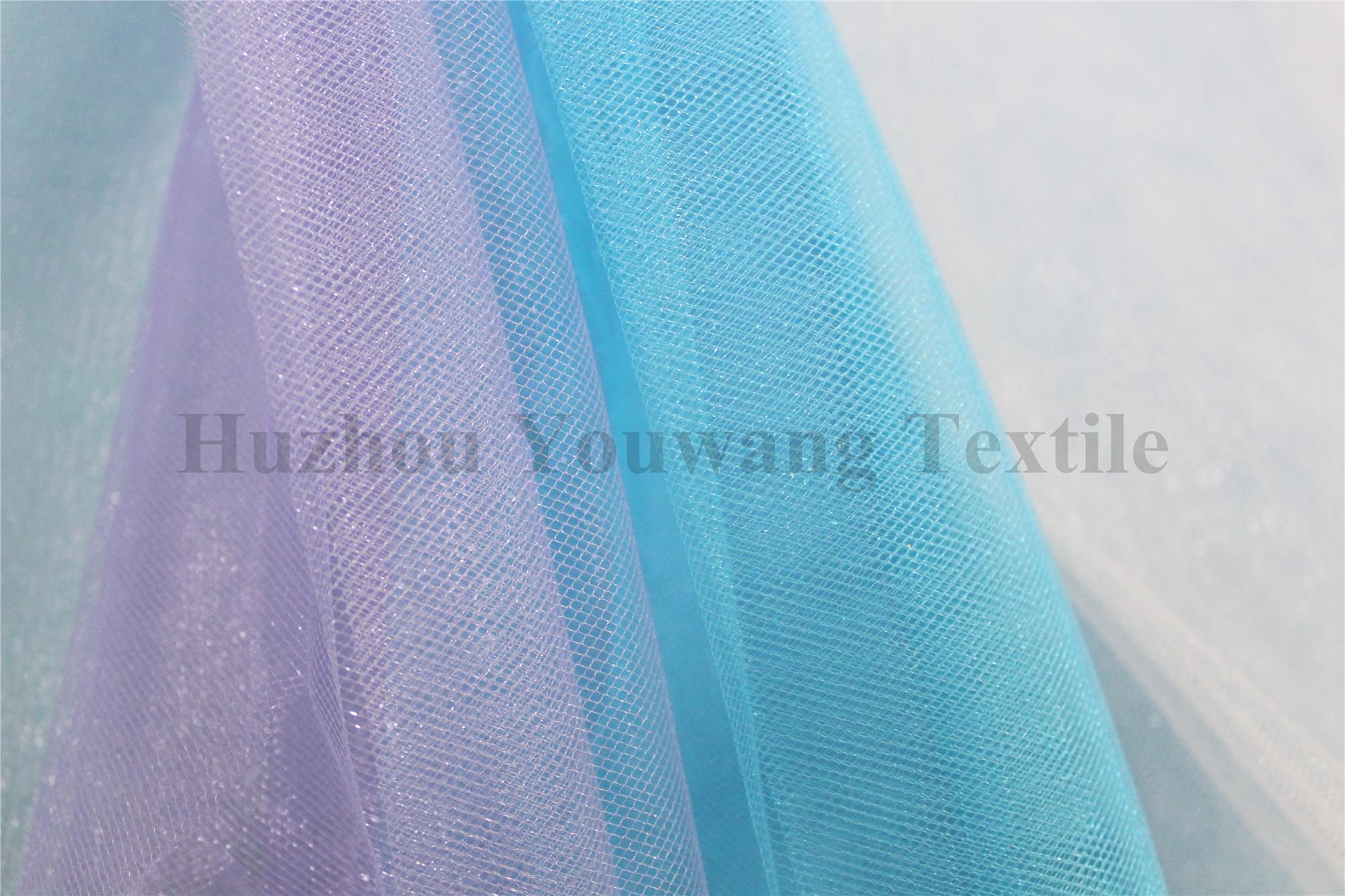 Shiny Tull Fabric 3