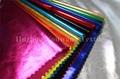 Knitted Metallic Elastic Fabric