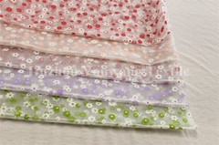 Printed Crystal Organza Fabric