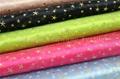 Star Design Crystal Organza Fabric