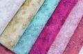 Butterfly Design Glitter Tull Fabric